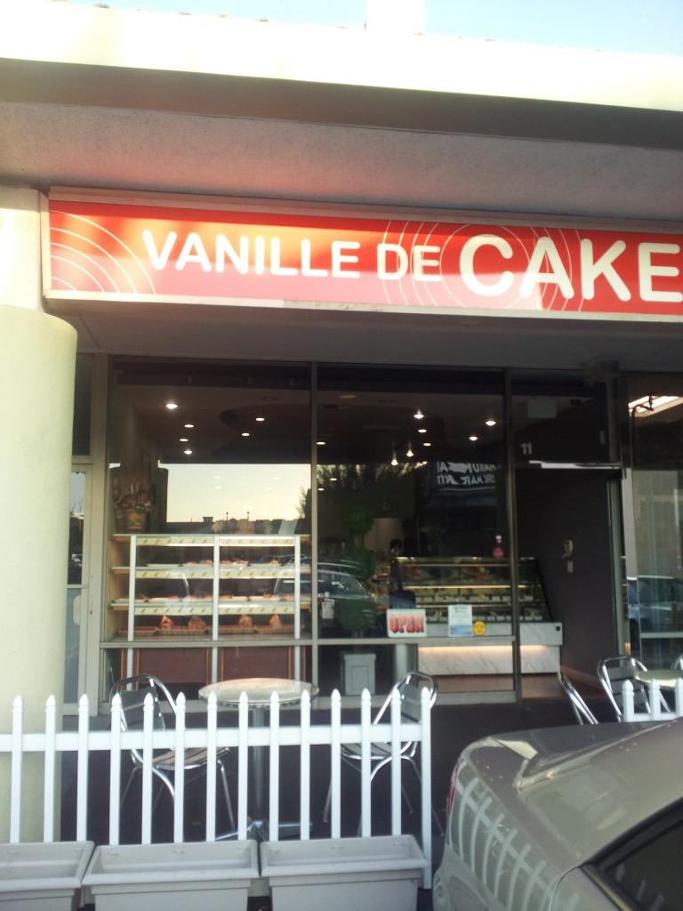 vanille de cake