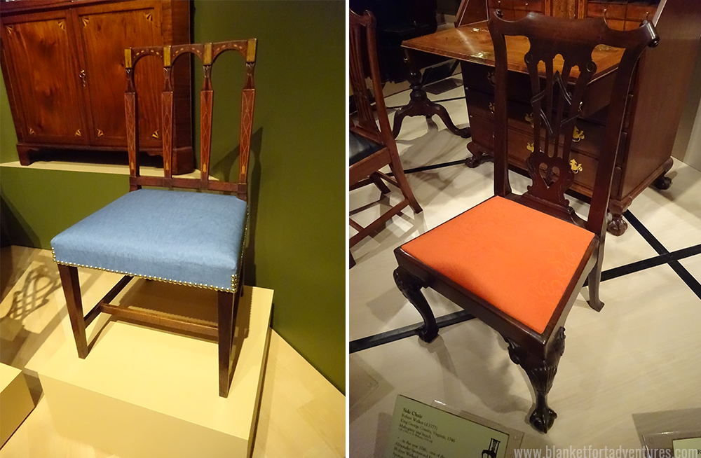 more colonial chairs