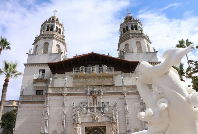 In Front of Hearst Castle