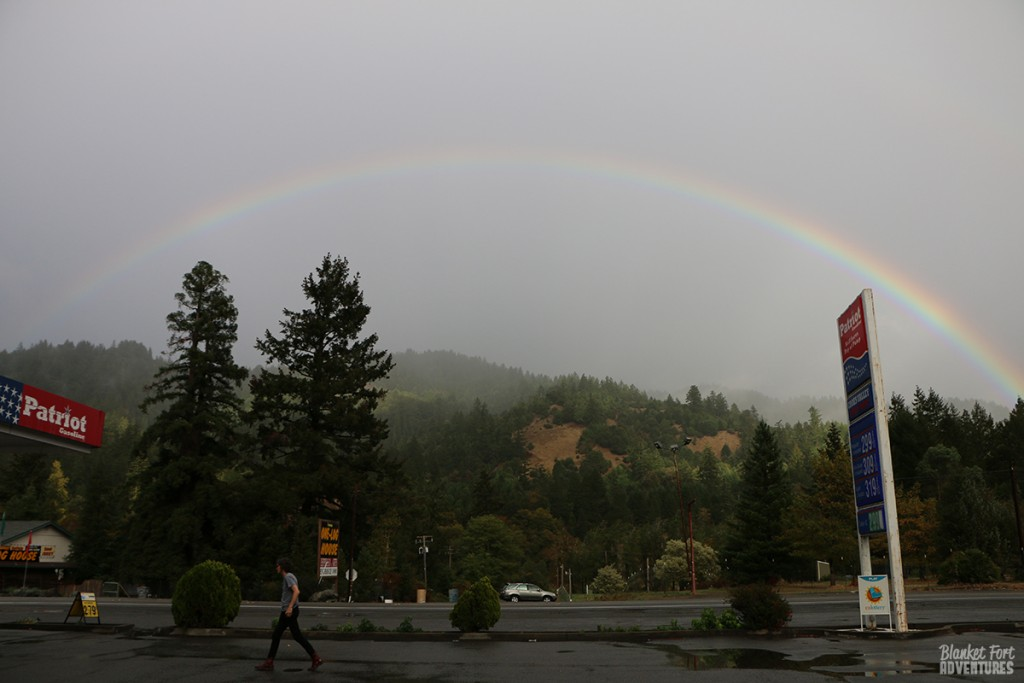 Rainbow Arch Redwood California
