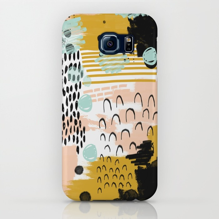 Society 6 Samsung Galaxy S6 Cell Phone Case Abstract Art Ames