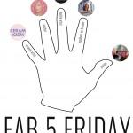 FAB 5 FRIDAY : II