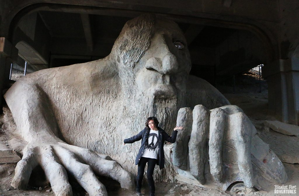 Seattle Bridge Troll_ Pop Culture Seattle