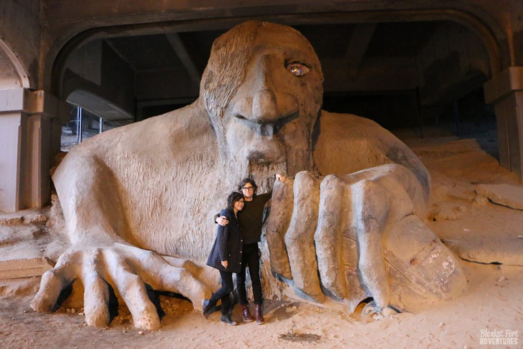 Seattle Bridge Troll Couple_ Pop Culture Seattle