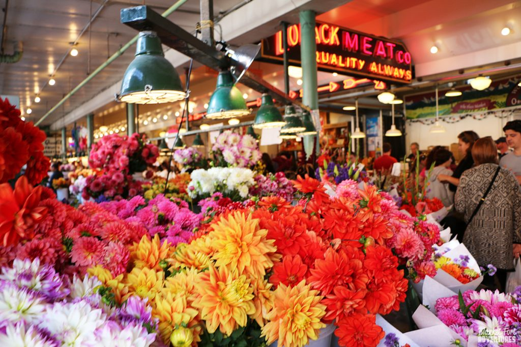 Seattle Pike Market Flowers_ Pop Culture Seattle