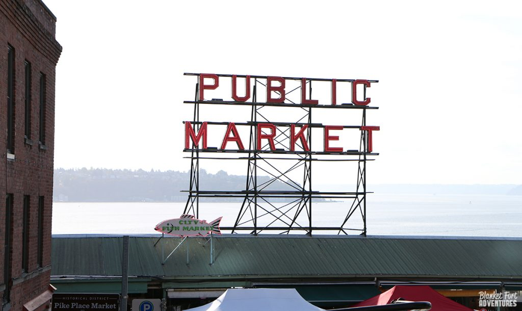 Seattle Pike Public Market Sign_ Pop Culture Seattle