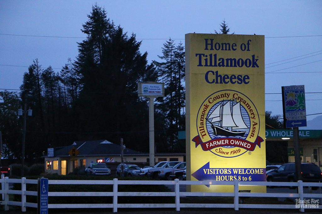 Tillamook Cheese Oregon Road Trip
