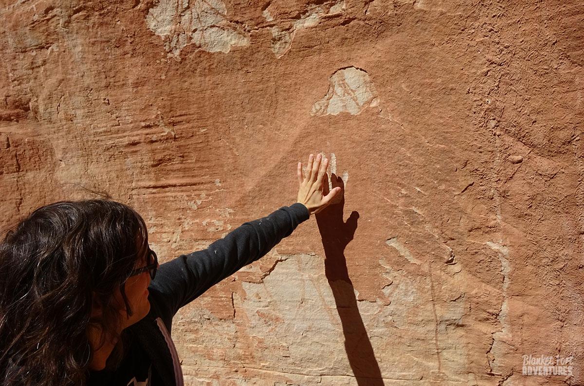 Vip access to petroglyphs blanket fort adventures utah natural bridges national monument petroglyphs publicscrutiny Gallery