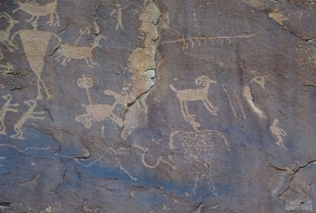 Utah Natural Bridges National Monument_ Petroglyphs