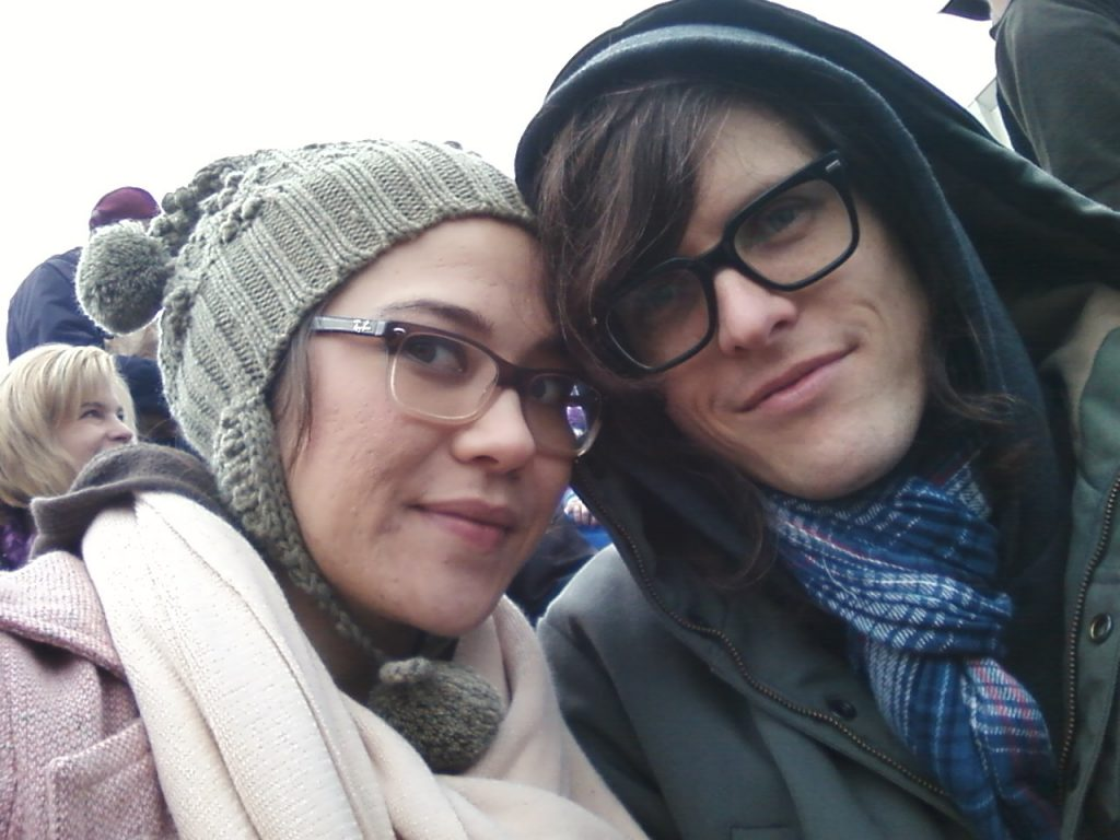 Dan and Bekka Rose Parade
