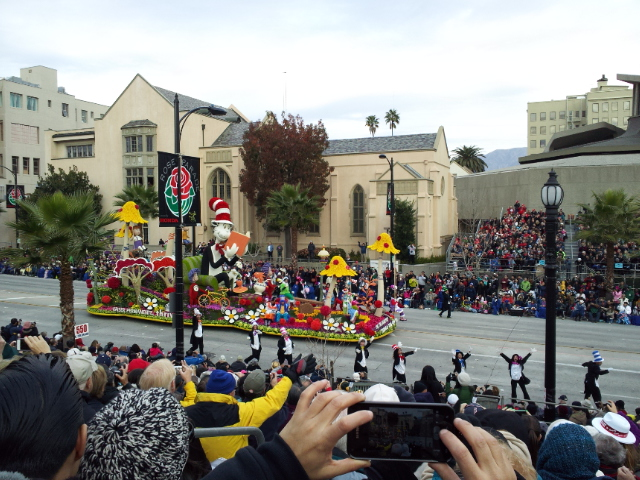 Rose Parade Dr. Seuss