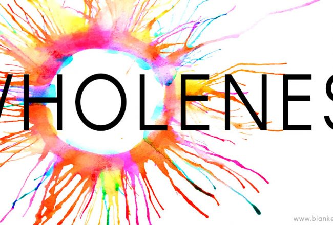 Wholeness Word of the Year