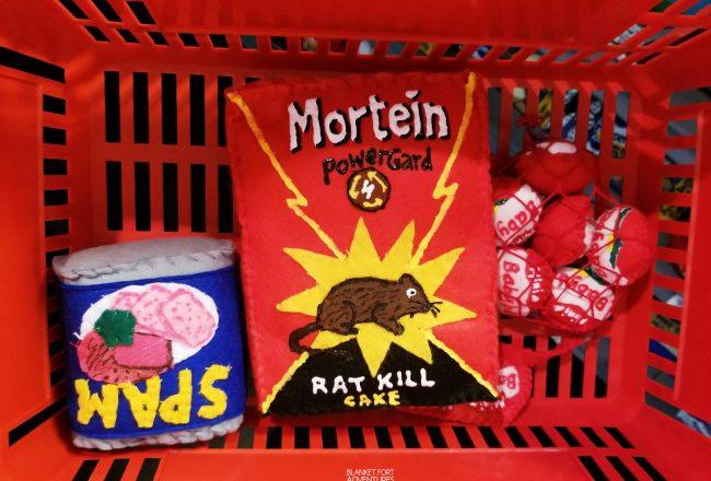 Sparrow Mart - spam, rat poison, babybells   blanket fort adventures